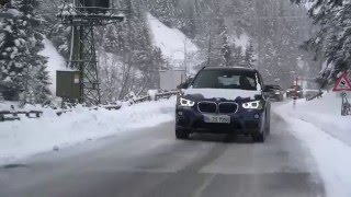 Тест-драйв BMW X1 в австрийских Альпах(С новым поколением Х1 баварцы грозят потеснить конкурентов не только в премиуме., 2016-03-14T10:45:27.000Z)