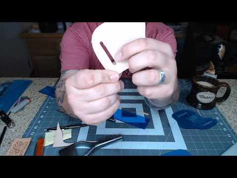 Making A Belt Pouch For A Pocket Knife