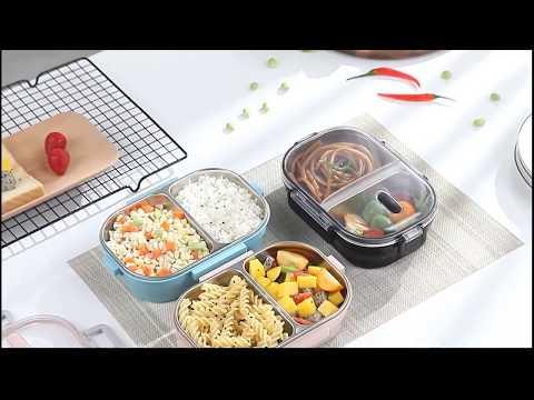 Герметичный контейнер для еды. Ланч-бокс на Алиэкспресс