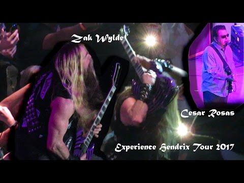 """""""Manic Depression""""  """"Purple Haze"""" & """"Little Wing"""" Experience Hendrix-- Zak Wylde"""