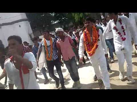 shailesh yadav (president condidate) CMP degree college allahabad election 2015
