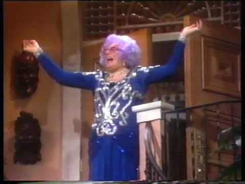 Burgess Meredith on Dame Edna's Hollywood