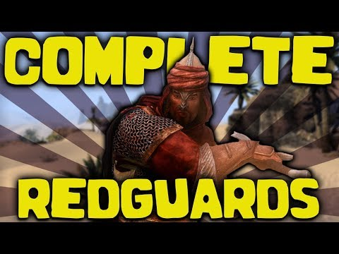 Skyrim - The COMPLETE Guide To The Redguards - Elder Scrolls Lore