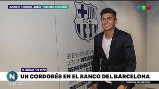SANTIAGO RAMOS, UN CORDOBÉS EN EL BANCO DEL BARCELONA