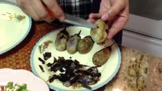 Quick & Easy Eggplant Veggie Cutlet