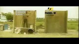видео Пенополистирольные модули в несъемных опалубках