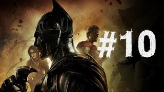 Injustice Gods Among Us Gameplay Walkthrough Part 10 - Lex Luther - Chapter 10