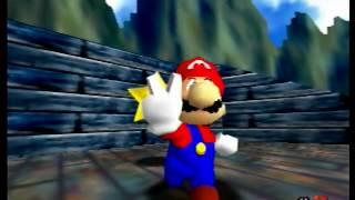 Super Mario 64 120 star speedrun in 1:40:05
