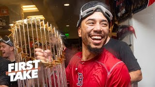The Red Sox, not the Yankees, are 2019 World Series favorites - Jessica Mendoza | First Take