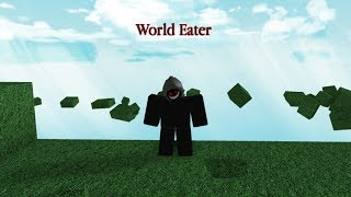 ROBLOX SCRIPT SHOWCASE: World Eater