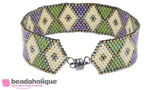 How to Create a Tapered End using Decreases in Peyote Stitch