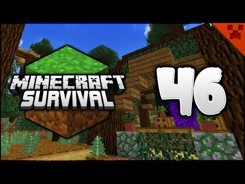 Minecraft Survival | The Wood Fortress Nether Temple! | Let's Play Minecraft Survival Episode 46
