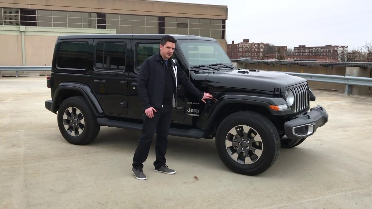 2018 jeep wrangler sahara complete review with casey. Black Bedroom Furniture Sets. Home Design Ideas