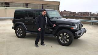 2018 Jeep Wrangler Sahara | Complete Review | with Casey Williams