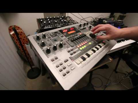 AIRWOLF Theme by Sylvester Levay (cover) Roland MC 505