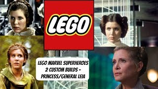 LEGO Marvel Superheroes 2 Custom Builds - Princess/General Leia