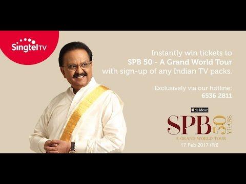 An EPIC PERFORMANCE by SPB sir Chitra maa ! 20 Anjali anjali  SPB 50 Singapore