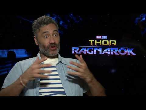 "Thor: Ragnarok    Taika Waititi - Director / ""Korg"" Generic Interviews    SocialNews.XYZ"