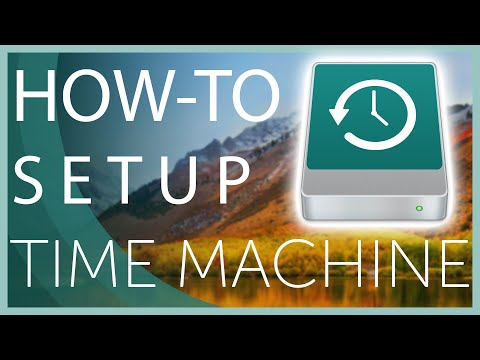 How to Set up and Use Time Machine to Backup your Mac 2020