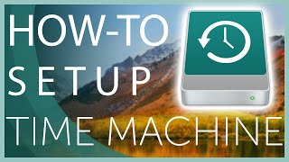 How to Set uṗ and Use Time Machine to Backup your Mac 2020