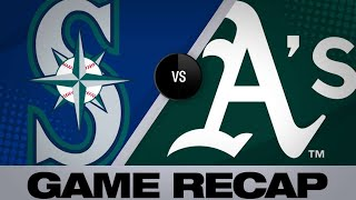 Mariners plate 4 in the 8th for 6-3 win | Mariners-A's Game Highlights 6/16/19
