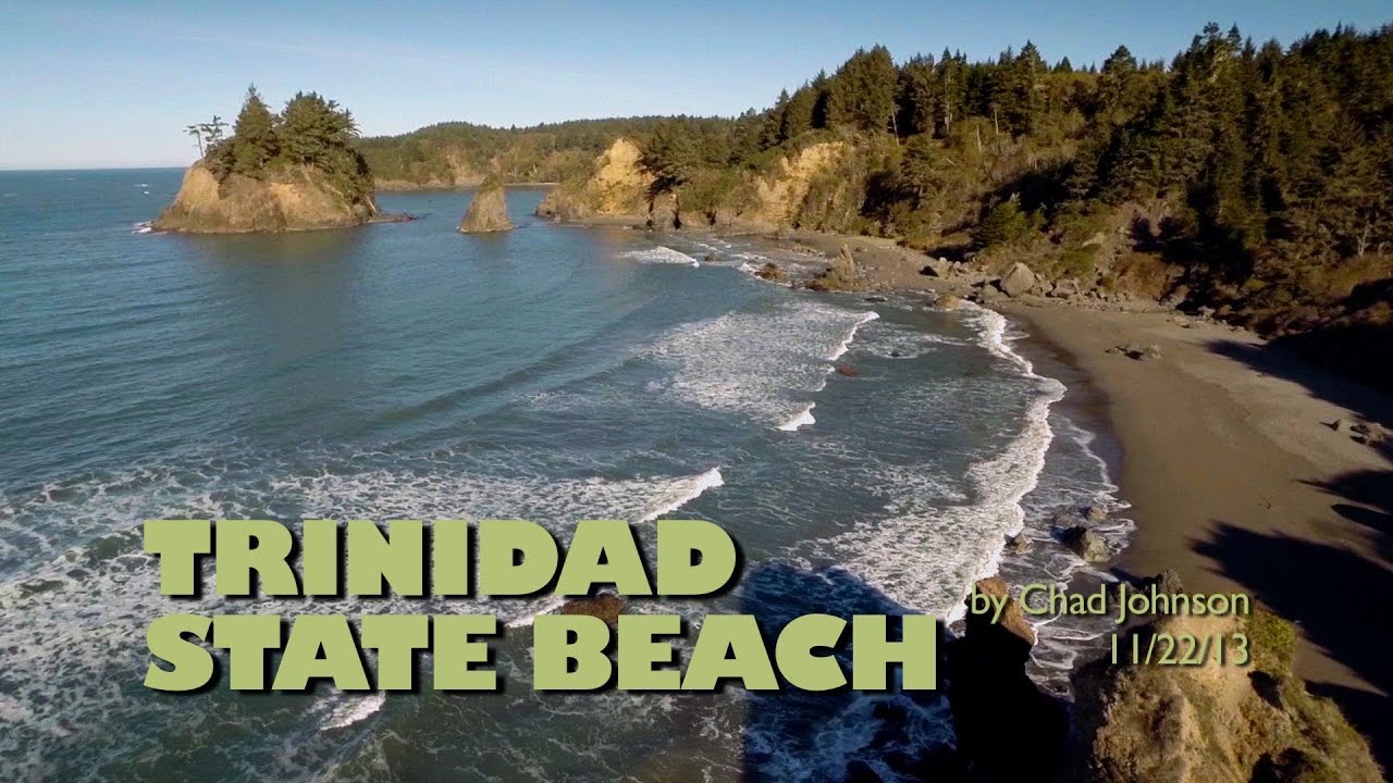 Trinidad State Beach Aerial Views