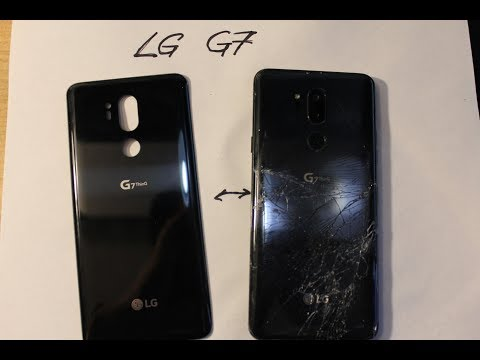 LG G7 Thinq  How to replace Back glass and Camera glass