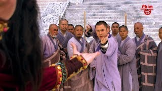 Thay Mặt Thiếu Lâm, Hư Trúc Đánh Trận Sống Chết Với Khưu Ma Trí | Thiên Long Bát Bộ | Clip Hay