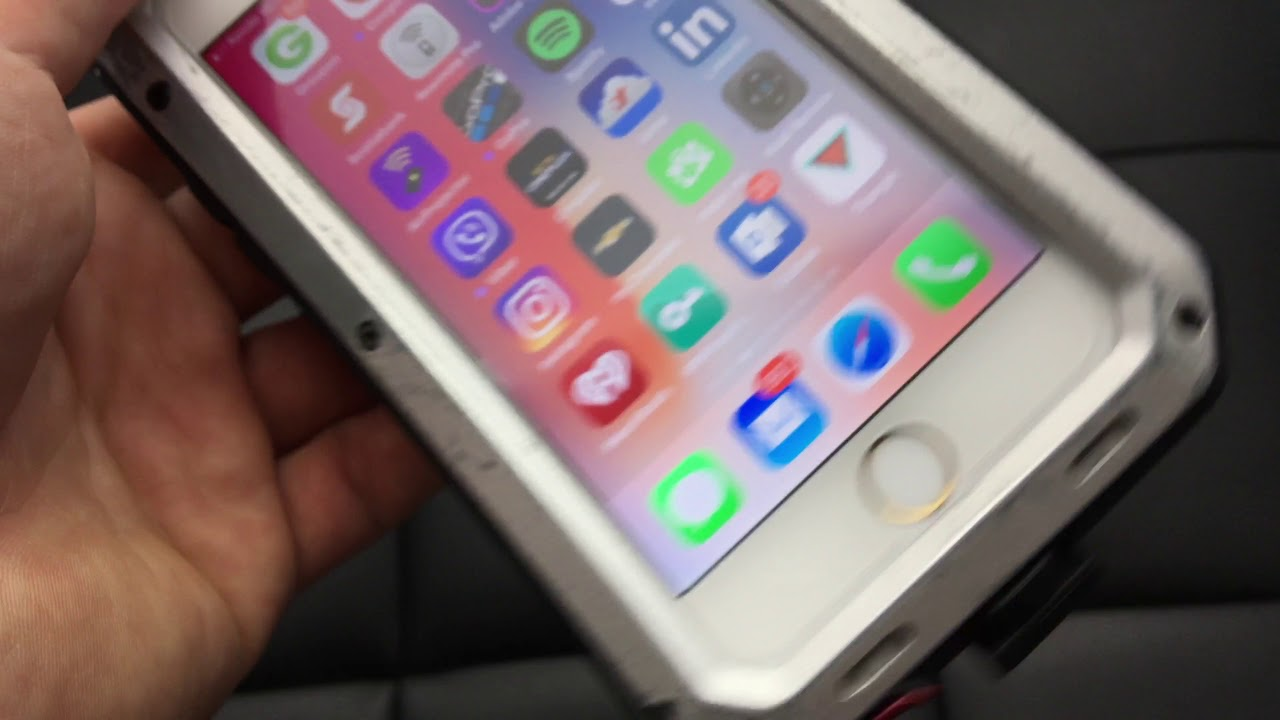 newest collection 83005 3ac3c HEAVY DUTY Shock proof Bumper Metal Cover Case Waterproof iPhone Apple 5 6  7 X - ebay REVIEW