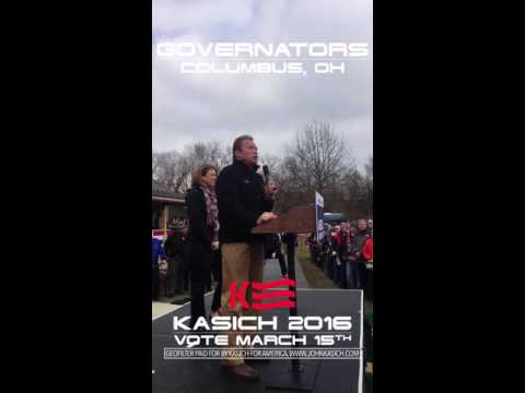 Governor Schwarzenegger's Endorsement of Governor Kasich