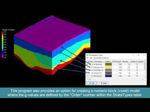 (RTR 3.2.4.3.1) Creating Stratigraphic Block Models