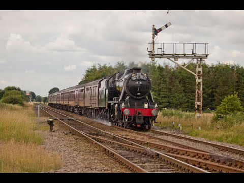 North Yorkshire Steam - NYMR at Whitby & 'The Scarborough Spa Express' 19th & 21st July 2016