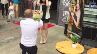 Sports Car Marriage Proposal Fails