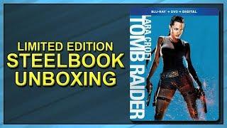Lara Croft: Tomb Raider Limited Edition SteelBook Unboxing