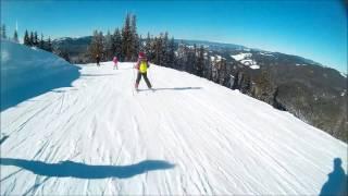 Bulgaria Skiing - Pamporovo Blue Ski run number 12  Stoykite 1