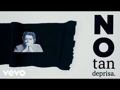 Joaquin Sabina - No Tan Deprisa (Lyric Video)