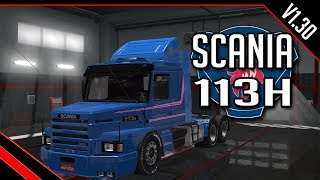 EURO TRUCK SIMULATOR 2: DOWNLOAD MOD SCANIA 113H (V1.30)