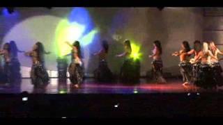 ESCUELA LUNA DANCE,SHOW BELLY GLAM ,luna y el ballet raksanoor