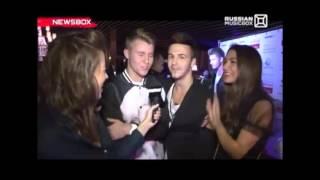 Russian MusicBox о презентации клипа группы ФРЕНДЫ