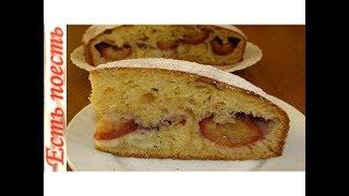 Сливово-яблочный пирог с перцем - вкусный, пикантный  и ароматный.