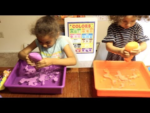 Aqua Sand Sensory Play Preschool/ Kindergarten