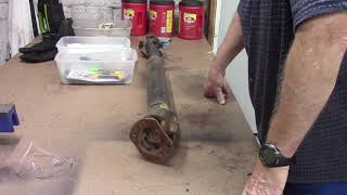 DODGE RAM FRONT DRIVE SHAFT GREASING, ( NOT)