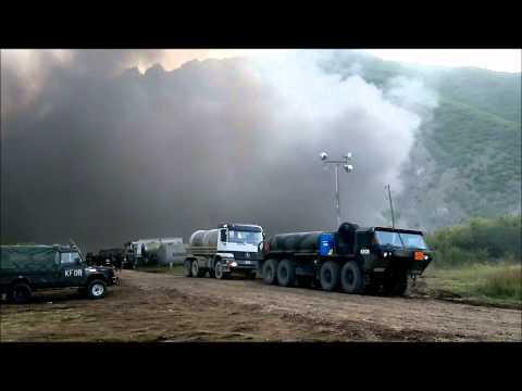 Kosowo - rozdarty kraj. Polscy policjanci strzegą tam bezpieczeństwa