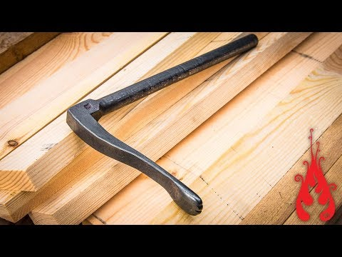 Blacksmithing - Forging a woodworkers holdfast