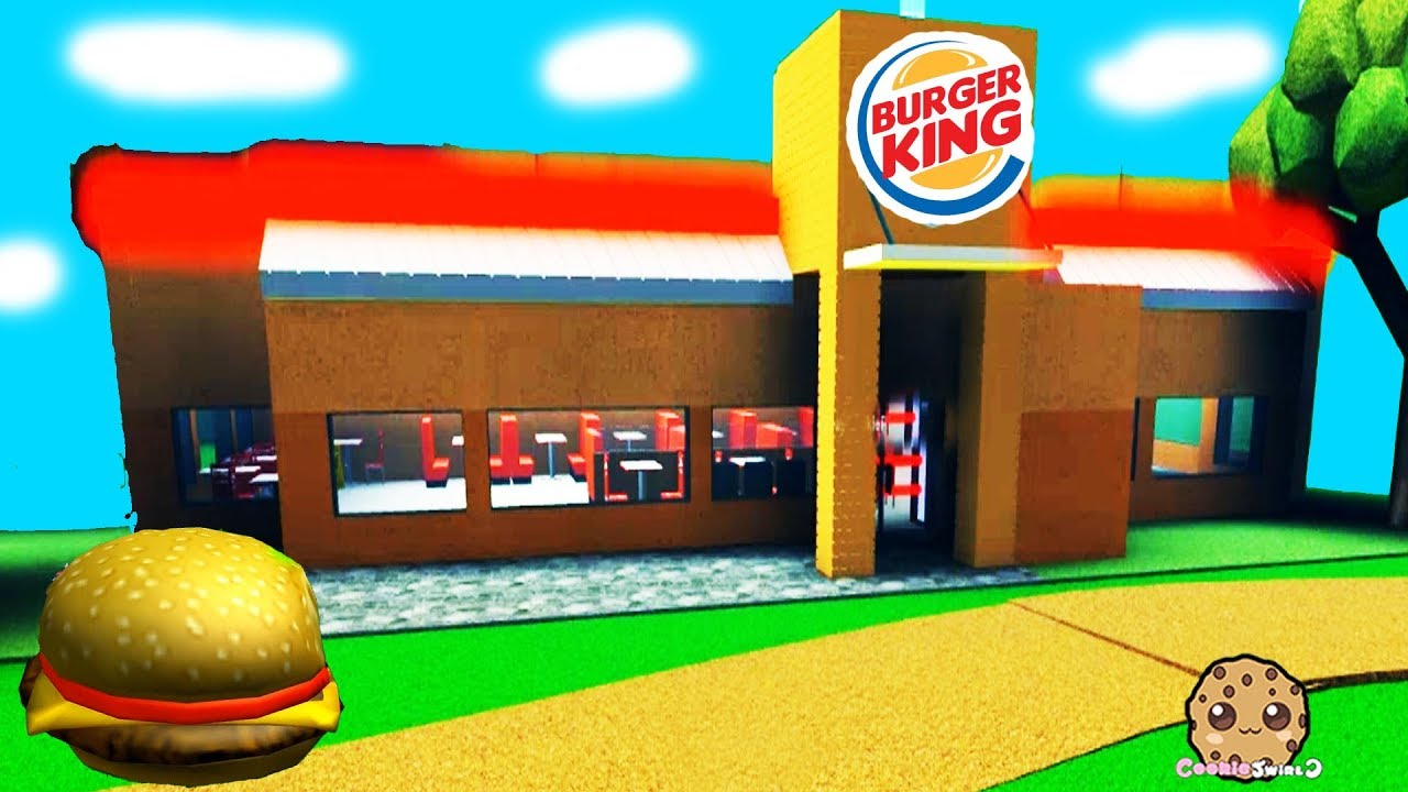 Roblox Fast Food Restaurant