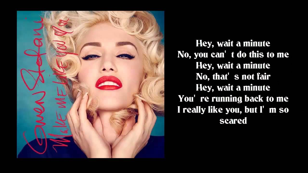 Gwen Stefani Make Me Like You Lyrics Single 2016 Youtube