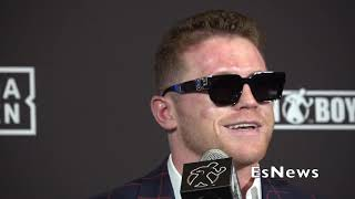 Canelo Keeps It 100 On Kovalev Power Do He Hit The Hardest ? EsNews Boxing