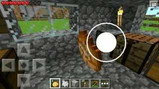 Minecraft Pocket Edition 0.8.1 (Realms) Livestream Part 1