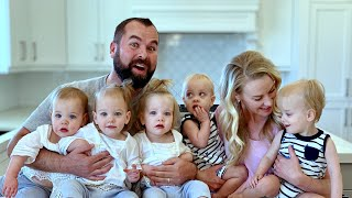 Empty House Tour - New Home For Family Of Nine - Toddler's First Move
