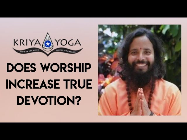 Does Worship Increase True Devotion?